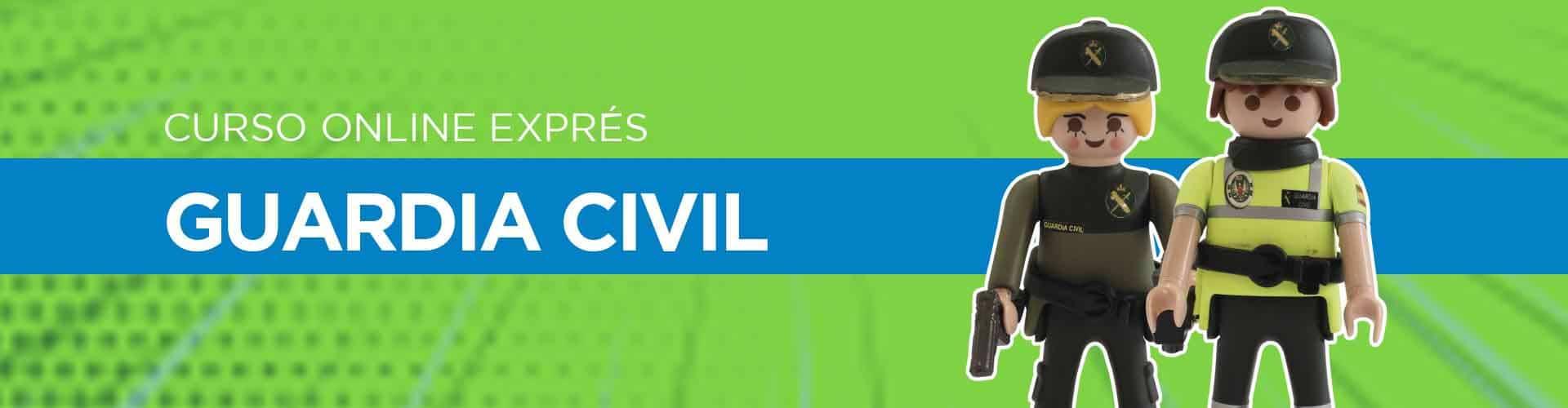 Curso de Guardia Civil Exprés Online de Academia Fonseca